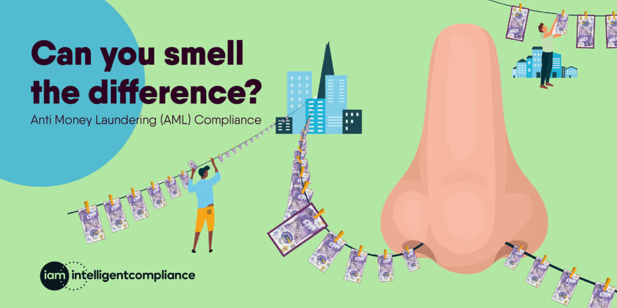 Smell the difference blog post - antimoney laundering compliance